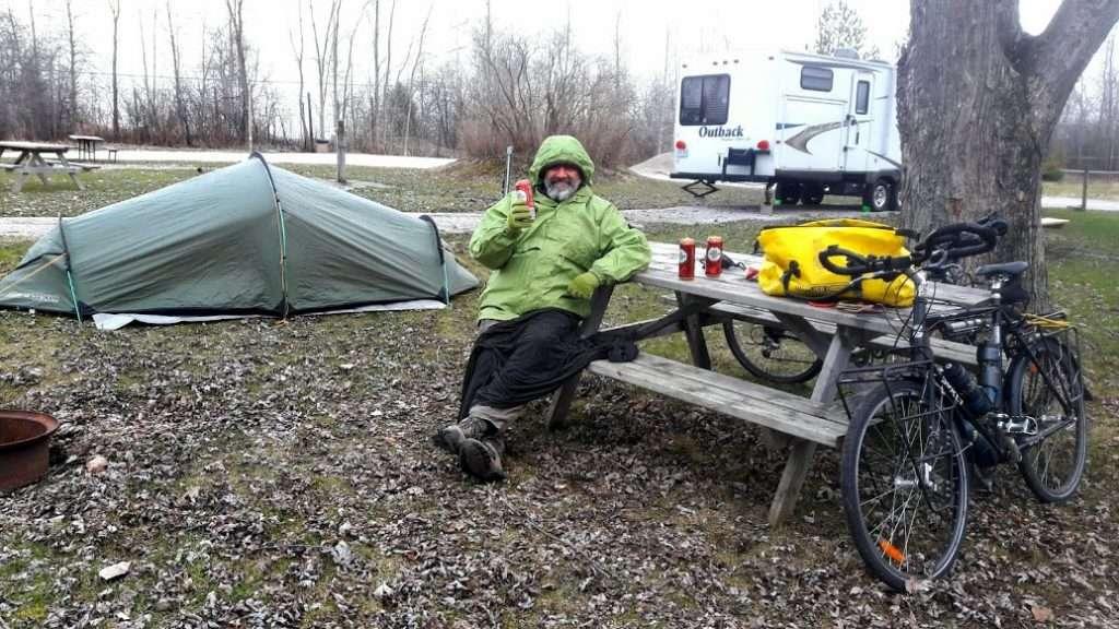 Orillia campground, Ontario