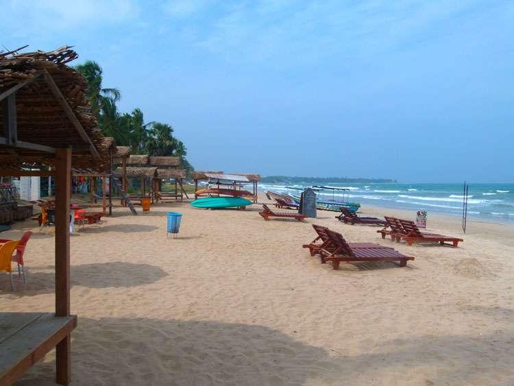 Sri Lanka, Uppuveli Beach